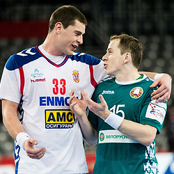 20180124: CRO, Handball - EHF Euro Croatia 2018 - Group II, Serbia vs Belarus