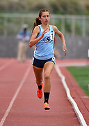May 19, 2018; Torrance, CA, USA; Mariah Castillo of Suagus wins the Division II girls 1,600m in 4:43.73 during the CIF Southern Section Finals  at El Camino College.
