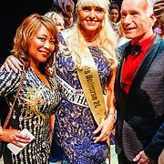 RUS/Minsk/20150829 - Mrs. Universe verkiezing 2015, Sophia de Boer en vrienden Rob rijnsburg en partner