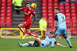 Marlon Pack of Bristol City is challenged by Richard Smallwood of Rotherham United - Rogan Thomson/JMP - 04/02/2017 - FOOTBALL - Ashton Gate Stadium - Bristol, England - Bristol City v Rotherham United - Sky Bet Championship.
