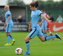 Manchester City Womens' Jill Scott in action. - Photo mandatory by-line: Nizaam Jones- Mobile: 07583 387221 - 28/09/2014 - SPORT - Women's Football - Bristol - SGS Wise Campus - BAWFC v Man City Ladies - sport