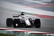 October 18-21, 2018: United States Grand Prix.   Marcus Ericsson, Sauber F1 Team, C37