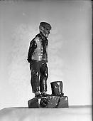 1953 - Plaster models (souvenirs) for Mr. McCarthy