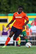 Pelly Mpanzu during the Pre Season Friendly match at Top Field, Hitchin<br /> Picture by David Horn/Focus Images Ltd +44 7545 970036<br /> 17/07/2014