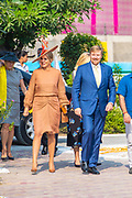 "Zijne Majesteit Koning Willem-Alexander en Hare Majesteit Koningin Máxima brengen op uitnodiging van president Ram Nath Kovind een staatsbezoek aan de Republiek India.<br /> <br /> His Majesty King Willem-Alexander and Her Majesty Queen Máxima on a state visit to the Republic of India at the invitation of President Ram Nath Kovind.<br /> <br /> Op de foto / On the photo: Bezoek aan 'Go-Girls-Go' en school RPVV Nand Nagri / Visit to ""Go-Girls-Go"" and school RPVV Nand Nagri"