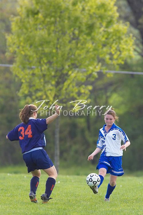 JV Girls Soccer vs Clarke, 0-0, on Tuesday, May 3, 2005
