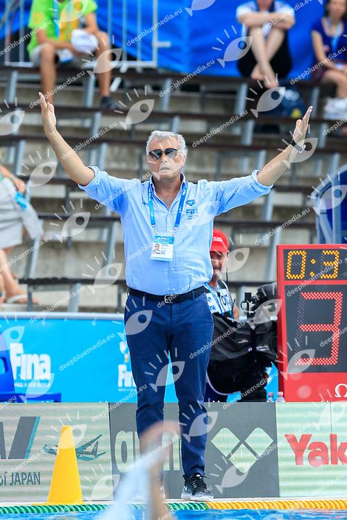 {prsn}<br /> KAZ (white cap) -  Italia (blue cap)<br /> Preliminary Round Water Polo Women<br /> Day10  23/07/2017 <br /> XVII FINA World Championships Aquatics<br /> Alfred Hajos Complex Margaret Island  <br /> Budapest Hungary <br /> Photo @Deepbluemedia/Insidefoto Photo @Marcelterbals/Deepbluemedia/Insidefoto