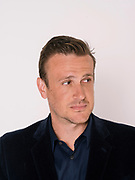 LOS ANGELES, CA. MARCH 15, 2017:  Actor, screenwriter, comedian, producer, and author Jason Segel photographed in the studio in Los Angeles, California on Wednesday March 15, 2017. (Photo by Brinson+Banks)