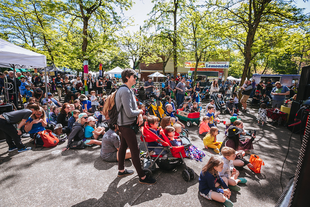 12th Annual St. Johns Bizarre in Portland, OR, May 12, 2018. Photo by Jason Quigley.