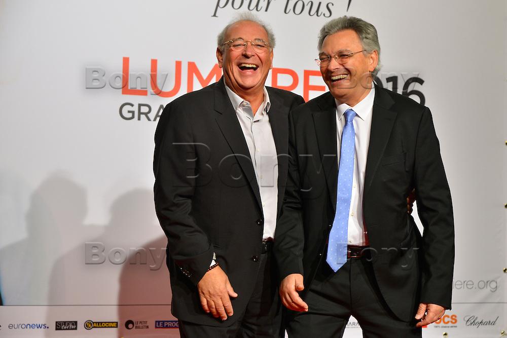 Samuel (G) &amp; Victor (D) Hadida<br /> Lyon 8 oct 2016 - Festival Lumi&egrave;re 2016 - C&eacute;r&eacute;monie d&rsquo;Ouverture<br /> 8th Film Festival Lumiere In Lyon : Opening Ceremony