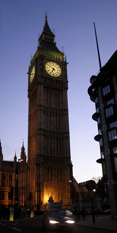 Big Ben at the Houses of Parliament, London