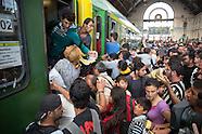 refugee crisis Budapest 03.09.16