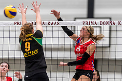 17-03-2018 NED: Prima Donna Kaas Huizen - VC Sneek, Huizen<br /> PDK verliest kansloos met 3-0 van Sneek / Sietske Osinga #8