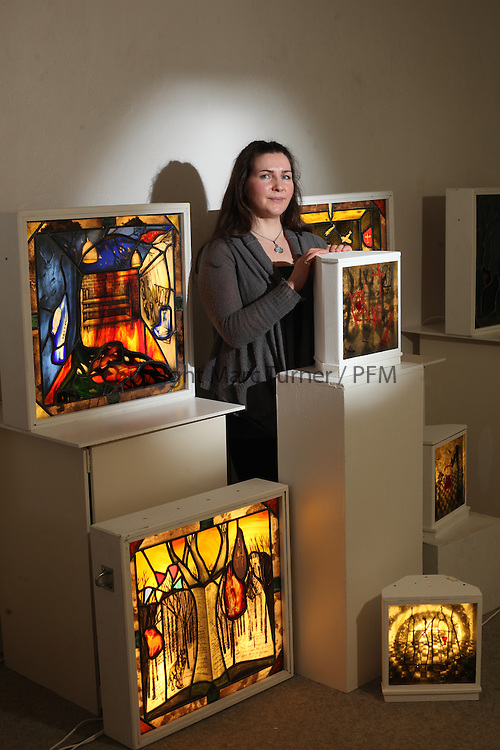 Angela Steel - Stained Glass Exhibition at the Compass Gallery