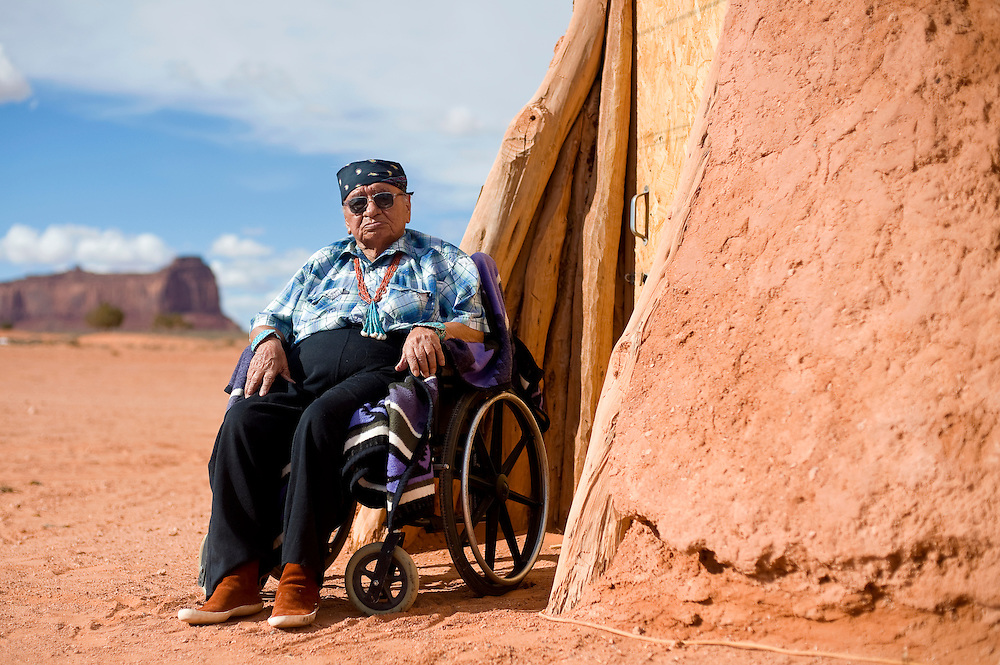 040213       Brian Leddy<br /> Navajo medicine man John Holiday was instrumental in repatriating three ceremonial shields made for protection ceremonies a few centuries ago. The shields were hidden in the mountains of Utah when Kit Carson was raiding Navajo country in 1863. They were found by a rancher in the early 1900s and while several tribes claimed them as property, only Holiday was able to produce enough information to link them to the Navajo