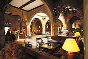 Interior of the Parador Santo Domingo, Santo Domingo, Rioja, Spain.