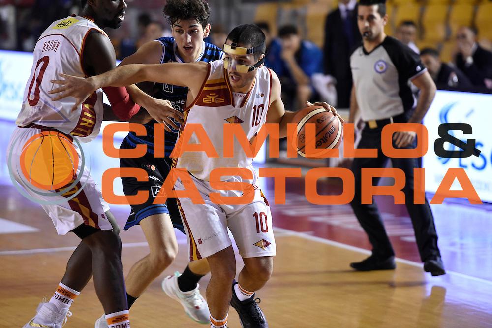 Massimo Chessa<br /> Unicusano Roma - Benacquista Assicurazioni Latina<br /> Campionato Basket LNP 2016/2017<br /> Roma 06/11/2016<br /> Foto Ciamillo-Castoria