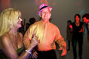 Guests dancing at celebratory event in Los Angeles