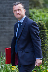 London, UK. 30th April 2019. Alun Cairns MP, Secretary of State for Wales, arrives at 10 Downing Street for a Cabinet meeting.
