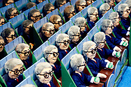Dolls of Berkshire Hathaway CEO Warren Buffett are on sale at the shareholder shopping day as part of the Berkshire Hathaway annual meeting weekend in Omaha, Nebraska May 5 2017. REUTERS/Rick Wilking