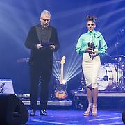 NLD/Amsterdam/201702013- Edison Pop Awards 2017, Eric Corton en Teske de Schepper