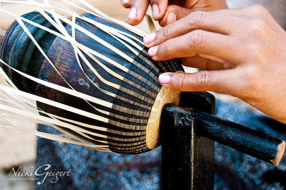 Crafts-person-making-hand-made-object, India, Fine art photography prints. People and places wall art for sale.