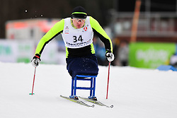 LOBAN Dzimtry, BLR at the 2014 IPC Nordic Skiing World Cup Finals - Long Distance