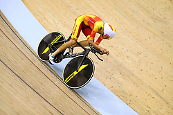 Spain's Joan Bennassar in the men's 4000m individual pursuit qualifying during day four of the 2018 European Championships at the Sir Chris Hoy Velodrome, Glasgow. PRESS ASSOCIATION Photo. Picture date: Sunday August 5, 2018. See PA story CYCLING European. Photo credit should read: John Walton/PA Wire. RESTRICTIONS: Editorial use only, no commercial use without prior permission