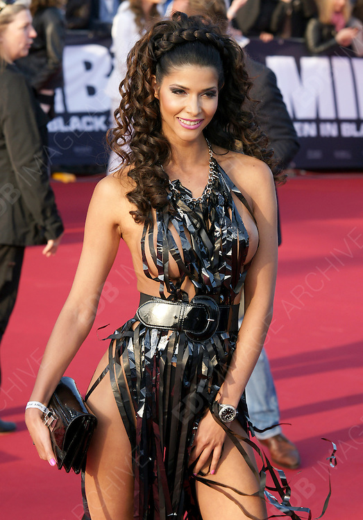 14.MAY.2012. BERLIN<br /> <br /> MICAELA SCHAEFER ATTENDING THE MEN IN BLACK 3 PREMIERE AT THE 02 ARENA IN BERLIN<br /> <br /> BYLINE: EDBIMAGEARCHIVE.COM<br /> <br /> *THIS IMAGE IS STRICTLY FOR UK NEWSPAPERS AND MAGAZINES ONLY*<br /> *FOR WORLD WIDE SALES AND WEB USE PLEASE CONTACT EDBIMAGEARCHIVE - 0208 954 5968*
