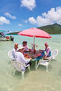 Snorkeling and lunch on Motu Marimaora, Huahine, French Polynesia