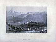 The Village of Zgarti, Lebanon 1839 From Syria, the Holy Land, Asia Minor, etc. : by  Carne, John, 1789-1844; Bartlett, W. H. (William Henry), 1809-1854; Purser, William Publisher: London, Fisher [1839-40]