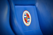 Reading badge before the Sky Bet Championship match between Reading and Derby County at the Madejski Stadium, Reading, England on 15 September 2015. Photo by Adam Rivers.