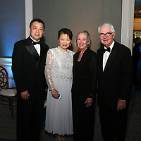 James and Lynn Qin, Carol and Tom Voss