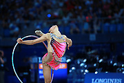 Laura Zeng was born in Hartford, Connecticut in October 14, 1999. She is is an American individual rhythmic gymnast. In the 35th World Championships she is once again among the best gymnasts in the world closing the final All Aaround ranking in sixth place with a total of 68,250.