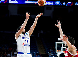 Kostas Papanikolaou of Greece during basketball match between National Teams of Greece and Russia at Day 14 in Round of 16 of the FIBA EuroBasket 2017 at Sinan Erdem Dome in Istanbul, Turkey on September 13, 2017. Photo by Vid Ponikvar / Sportida