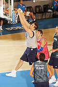 Ritiro per la preparazione ad Eurobasket 2007 Allenamento pomeridiano 30-07-2007<br /> Andrea Bargnani