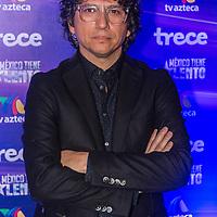 Mexico, D.F. 21/10/2015. Cantina La Que Manda. Dinamica ante los Medios de Comunicación con integrantes del programa de Tv Azteca, Mexico Tiene Talento. Hector Martinez.