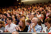 21/07/2018 repro free: President Michael D. Higgins spoke at the First Thought Talks strand at Galway International Arts Festival on Saturday July 21 in the Bailey Allen Hall in NUI Galway. The President launched this year&rsquo;s talks series with a reflection on the theme of home, which is the main theme of the talks. <br /> <br /> The First Thought Talks programme at GIAF features a series of interviews, conversations and debate which will examine the theme of home, curated by historian and archivist Catriona Crowe. First Thought Talks 2018 features 18 talks from academics, activists, architects, reporters, poets and writers with 43 participants including President Michael D. Higgins, Catherine Corless, Andrew O&rsquo;Hagan, John Lanchester, Sarah Hickson, Liz Fekete, Roy Foster, Tomi Reichental, Mitchell Joachim, Paula Meehan, Lucy McDiarmid and Diarmuid Ferriter amongst an extensive number of leading international voices and journalists from around the world. For more see www.giaf.ie<br /> Pictures: Andrew Downes/Xposure