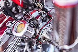 26.06.2019, Schladming, AUT, Rock the Roof 2019, im Bild Custom Bike Detail // during the Rock the Roof Biker Meeting in Schladming, Austria on 2019/06/26. EXPA Pictures © 2019, PhotoCredit: EXPA/ JFK