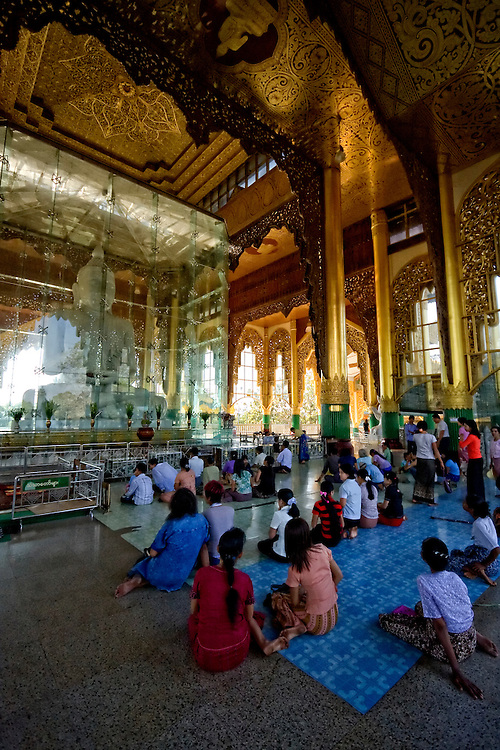 Kyauk Taw Gyi Pagoda, Yangon, Myanmar.