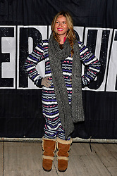Pictured is Brooke Kinsella. Celebrities brave the cold and sleep under the stars at Exchange Square in aid the homeless charity Centrepoint's event 'Sleep Out'. Thursday, 7th November 2013. Picture by Ben Stevens / i-Images