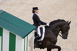Tina Konyot, (USA), Calecto V - Grand Prix Team Competition Dressage - Alltech FEI World Equestrian Games™ 2014 - Normandy, France.<br /> © Hippo Foto Team - Leanjo de Koster<br /> 25/06/14