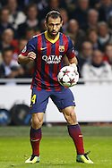 Onderwerp/Subject: FC Barcelona - Champions League<br /> Reklame:  <br /> Club/Team/Country: <br /> Seizoen/Season: 2013/2014<br /> FOTO/PHOTO: Javier MASCHERANO ( Javier Alejandro MASCHERANO ) of FC Barcelona. (Photo by PICS UNITED)<br /> <br /> Trefwoorden/Keywords: <br /> #00 $94 &plusmn;1377840750319<br /> Photo- &amp; Copyrights &copy; PICS UNITED <br /> P.O. Box 7164 - 5605 BE  EINDHOVEN (THE NETHERLANDS) <br /> Phone +31 (0)40 296 28 00 <br /> Fax +31 (0) 40 248 47 43 <br /> http://www.pics-united.com <br /> e-mail : sales@pics-united.com (If you would like to raise any issues regarding any aspects of products / service of PICS UNITED) or <br /> e-mail : sales@pics-united.com   <br /> <br /> ATTENTIE: <br /> Publicatie ook bij aanbieding door derden is slechts toegestaan na verkregen toestemming van Pics United. <br /> VOLLEDIGE NAAMSVERMELDING IS VERPLICHT! (&copy; PICS UNITED/Naam Fotograaf, zie veld 4 van de bestandsinfo 'credits') <br /> ATTENTION:  <br /> &copy; Pics United. Reproduction/publication of this photo by any parties is only permitted after authorisation is sought and obtained from  PICS UNITED- THE NETHERLANDS