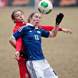 Scotland v Wales | Womens International Friendly | 7 April 2013