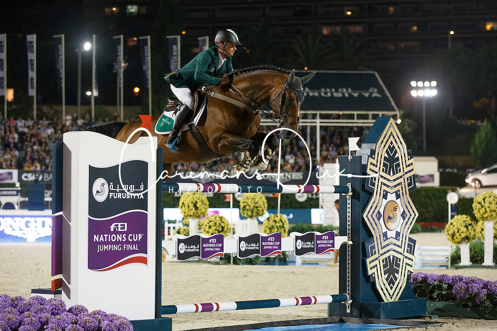 Lynch Denis, (IRL), All Star<br /> Final<br /> Furusiyya FEI Nations Cup Jumping Final - Barcelona 2015<br /> &copy; Dirk Caremans<br /> 26/09/15