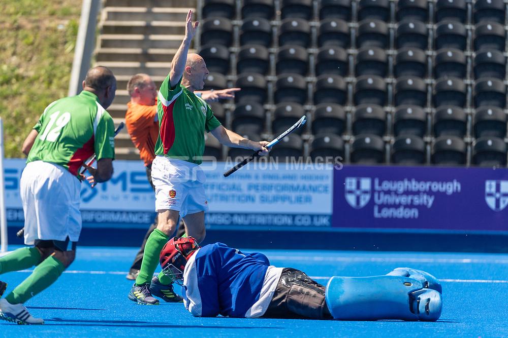 Barford Tigers v Stourport - Men's O50s T2 Final, Lee Valley Hockey & Tennis Centre, London, UK on 06 May 2018. Photo: Simon Parker