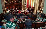 Homenaje de Senadores a FFAA en Misión de Paz en Haiti.