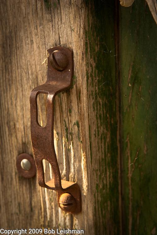 Old shop door