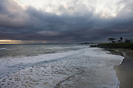 Stormy Sunset On West Cliff
