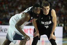 Spain-Bastbetball, FIBA World Cup, New Zealand v USA